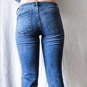 Gap blue bootcut high waisted Jeans